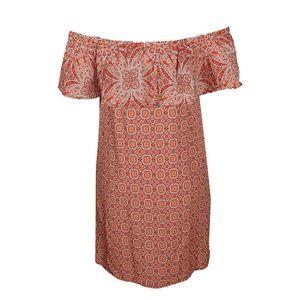 Sanctuary Sun Orange Misha Printed Dress